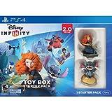 Disney Infinity 2.0 – Toy Box – Pack démarrage PS4 – Jeu en Anglais + 2 Figurines Interactives