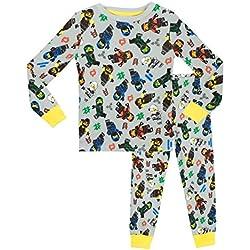 Lego Ninjago - Pijama para Niños - Lego Ninjago - Ajuste Ceñido - 10 a 11 Años