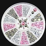 Generic Nail Diamond Box Nail Bench Imitation White AB 12 Drill Grid Plate - Best Reviews Guide
