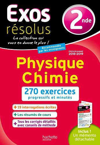 Exos Résolus Physique Chimie 2nde par Jean-Marie Belières