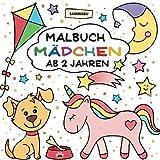 Malbuch Mädchen ab 2 Jahren: Mein erster Malspaß im großen Quadrat