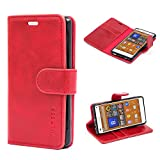 Sony Xperia Z3 Compact Case,Mulbess Leather Case, Flip