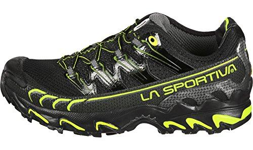 LA SPORTIVA ULTRA RAPTOR NOIRE ET VERT POMME chaussure de trail noir