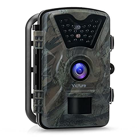 'Victure Wildlife Camera Trap 1080P Full HD 12MP Hunting Camera Wide Angle Vision Infrared DRSLANZAROTE 20m Night Vision Waterproof IP662.4LCD