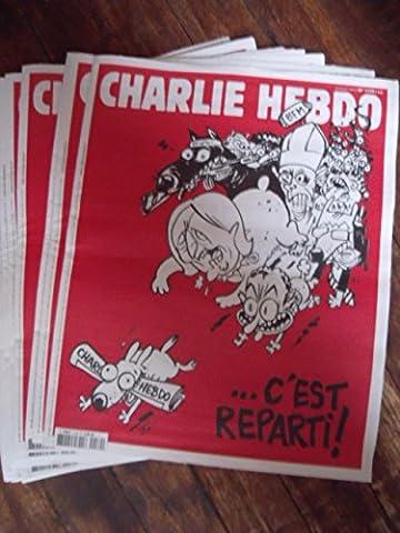 CHARLIE HEBDO C EST REPARTI DU 25-02-2015 ORIGINAL N° 1179