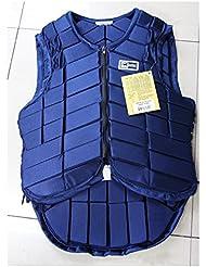 Chaleco Ecuestre Ropa Ecuestre Chaleco de Seguridad AD-059 Azul L