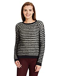 Pepe Jeans Womens Cotton Pullover (PIL0001592_Black_S)