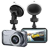 Dash Cam, Camera for, Cars with Full HD 1080P 170 Degree Super Wide Angle Cameras, 3.0' TFT...