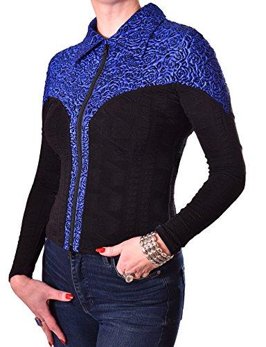 PoshTops Women/'s Blouse Off Shoulders Stretchy Faux Fur Animal Print Ladies Top
