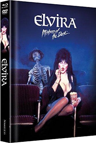 Elvira - Mistress of the Dark - Mediabook/Limitiert auf 555 Stück (+ DVD) [Blu-ray]