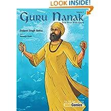 Guru Nanak, The First Sikh Guru, Volume 2 (Sikh Comics)