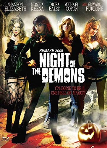 Night of the Demons - Remake 2009 - Uncut / Limitiert auf 111 Stück - Mediabook Cover D (+ DVD) [Blu-ray]