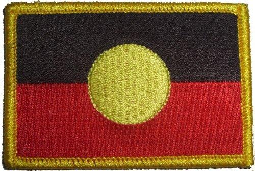 Aborigines Australien Indianer Aufbügler Aufnäher Patch ca. 8 x 5,5cm - FRIP –Versand®