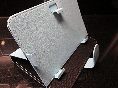 Hellblau Android Logo Hülle/Ständer für Advent Vega Tegra Note 7Tablet PC
