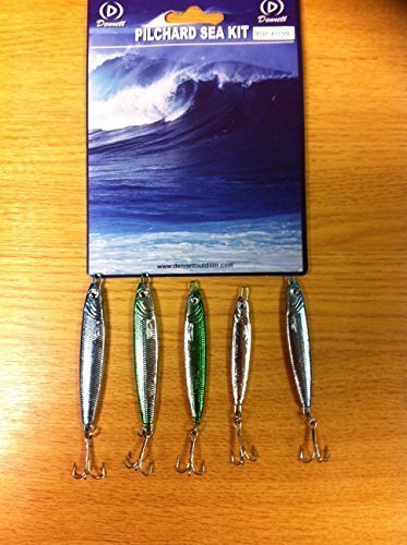 dennett-pilchard-sea-lure-kit5-pack1x20g-2x30g-2x42g-luressea-fishing-lures