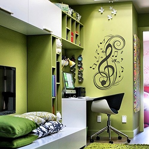 music-notes-wall-decal-vinyl-music-wall-decal-music-note-wall-sticker-wall-mural-wall-graphic-room-a