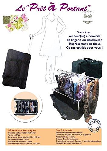 BARBACADO - Portatrajes de viaje negro negro