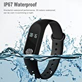 DawnRays™ M2 High Quality Fitness Band Oled Display Smart Tracker Smart Fitness Band Water Proof Band -Phone Call Alert Health Sports Band Fitness Band /Record Sports Data /Sleeping Mode/ Smart Fitness Tracker/ Smart Fitness Band/ Sleep Monitoring/