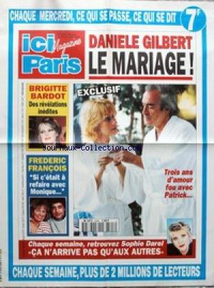 AFFICHE DE PRESSE [No 2596] du 05/04/199...