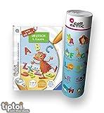 Ravensburger tiptoi  Buch | Deutsch 1. Klasse - Mein Lern-Spiel-Abenteuer + ABC Buchstaben Lernen - Poster mit Tieren, Tip TOI, Schule, Lesen