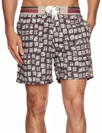 Pepe Jeans - Short De Bain - Homme - Gris (Steel Grey) - Taille L