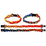 Henbrandt Pack of 10 Friendship Bracelets - Great Girls and Boys Party Loot Bag Fillers