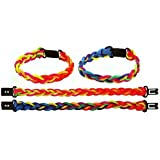 Pack of 10 Friendship Bracelets - Great Girls and Boys Party Loot Bag Fillers