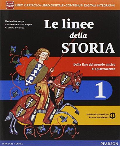 Linee della storia. Con Storia antica. Per la Scuola media. Con e-book. Con espansione online: 1