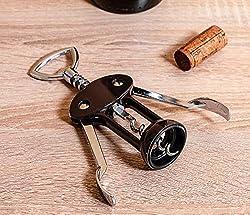 Vacu Vin 68415606 Flügelkorkenzieher J-Hook