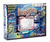 """AQUA DRAGONS® Acuario """"Mundo Submarino"""" Hábitat Profundidades Marinas con base de iluminación LED incorporada, en estuche semi-cerrado, Juguete educativo y científico"""