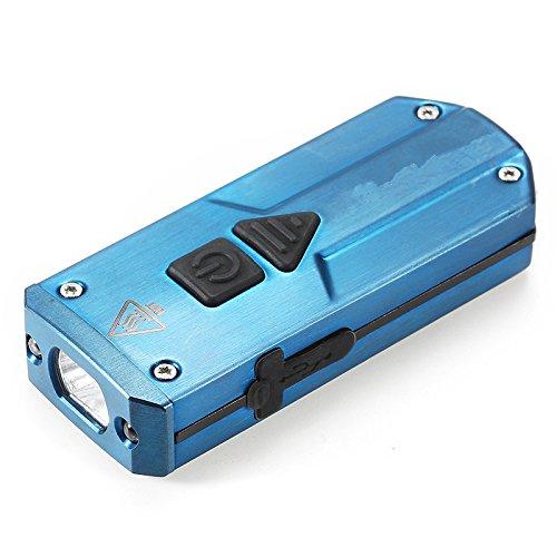 Jiguoor k1ss xp-g3+ 365nm uv + led rosso 250lm usb ricaricabile mini torcia led portachiavi luce ip65impermeabile di alta qualità blue