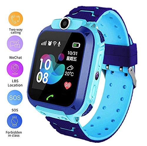 linyingdian Smartwatch Niños, Reloj Inteligente Niños con 1.44 Pantalla táctil Completa, LBS...