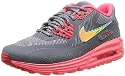 Nike Wmns Nike Air Max Lunar90 C3.0 Womens Trainers Wmns Nike Air Max Lunar90 C3.0 Cl Grymtllc Slvr-hypr Pnch-ac 4.5 Uk, 38 Eu