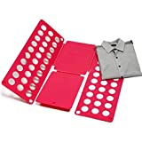 New Akira 59*70* 0.2cm Eco-friendly ABS Clothes Folding Stacked Board Plate(red)