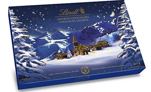 Lindt Boîte Paysage de Noël 469 g