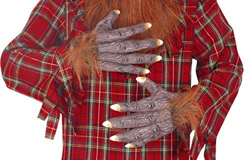 SEASONS (HK) LTD Seasons Deluxe Hairy Hände Kostüm Zubehör