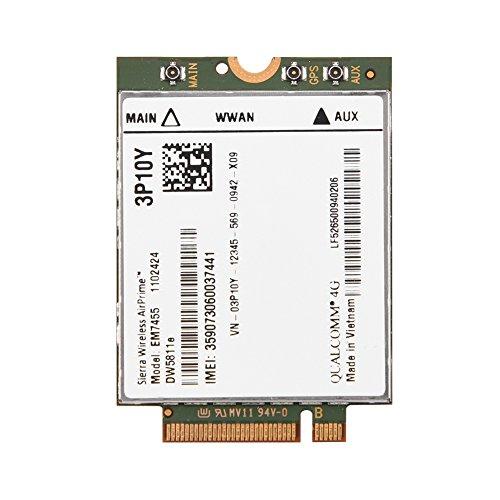 Topiky Módulo 4G LTE inalámbrico, reemplazo EM7455 inalámbrico para DELL DW5811e 3P10Y...