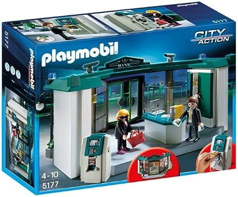 Playmobil - 5177 - Jeu de Construction - Banque avec