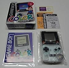 ゲームボーイカラー本体 ジャスコ オリジナルマリオバージョン(クリア) / Game Boy Color System Jusco Original Mario Version (Clear)