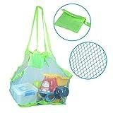 KidsHobby Plage de maille Extra Large famille sac fourre-tout sac à dos Toys serviettes sable-bleu