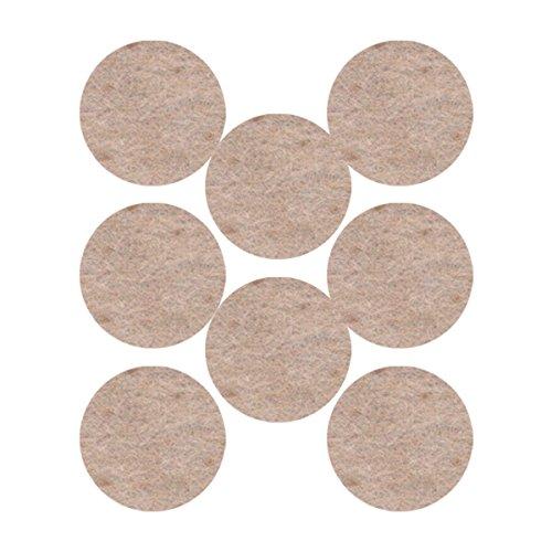 3M Filzgleiter mit abgerundeten Kanten, 25mm, beige, UU003708524