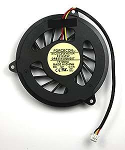 HP Pavilion DV8000 Ventilateur pour ordinateurs portables Pour les processeurs AMD
