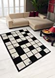Tapis artisanal de qualité supérieure - Design géométrique - Multicolore - Plusieurs tailles disponibles, 100 % polypropylène, Rhumba Multi, 160x230cm (5'3''x7'7'')...