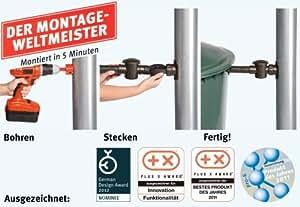 Graf/Garantia Speedy Regensammler anthrazit für Regentonne Modell 2012