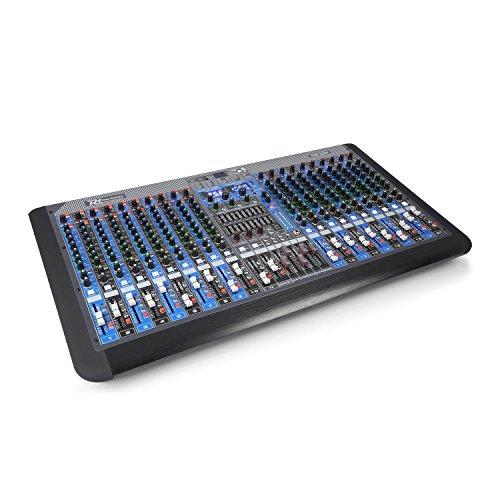 Power Dynamics PDM-S2004 20-Kanal-Mischpult DSP/MP3, USB-Port, BT-Empfänger