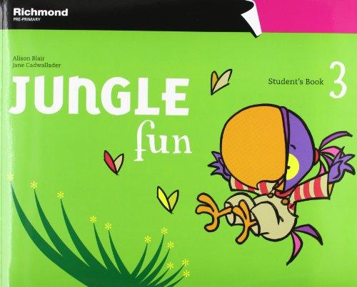 Jungle Fun 3 Student'S Book Pack - 9788466813068 por Vv.Aa.