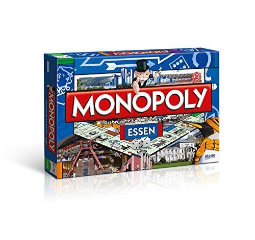 Monopoly Essen Stadt Edition - Das berühmte Spiel um den großen Deal! Groß Essen