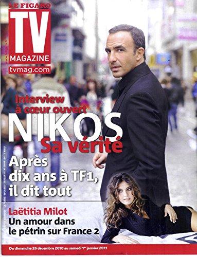 TV Magazine N20653: ALIAGAS/ MILOT/ PERMIS DE RECONSTRUIRE-BROGNIART/ SAINT-GERVAIS: PPDA&HOLTZ
