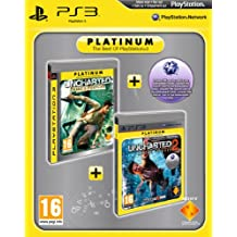 Uncharted: Drake's Fortune & Uncharted 2: Among Thieves - Platinum Double Pack   [Edizione: Regno Unito]