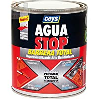 Ceys M276227 - Impermeabilizante aguastop barrera total rojo 1 kg